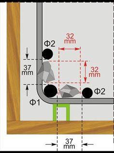 BuildingHow> Prodotti> Libri> Volume A> La costruzione> rinforzo Specifiche> spaziatura Tondi per cemento armato