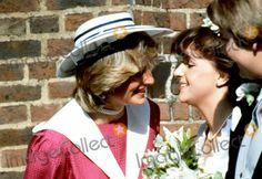 September 3, 1982: Princess Diana at the wedding of former flatmate & bride, Carolyn Pride and James Bartholomew (groom) at Chelsea Old Church, London Photo:alpha/Globe Photos Inc 1982 Princessdianaretro Aug