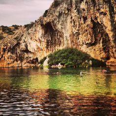 Λίμνη Βουλιαγμένης (Vouliagmeni Lake) in Βουλιαγμένη, Αττική, mineral water swimming and a fish pedicure!!