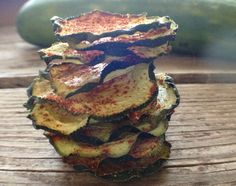Barbeque Cucumber Chips, taste like potato chips without the calories and guilt!