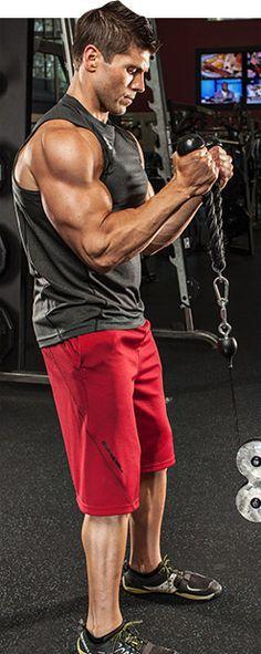 Bodybuilding.com - Arm Workouts For Men: 5 Biceps Blasts.