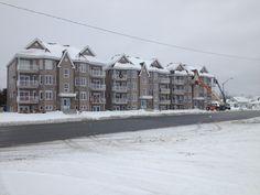 Projet condominiums Les Immeubles Théberge Rouyn-Noranda, Québec Snow, Outdoor, Outdoors, Outdoor Games, Human Eye