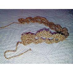 Gold bracialet. Fatto a mano lavorazione a uncinetto cotone lurex dorato. In vendita. Chiunque fosse interessato mi contatti !