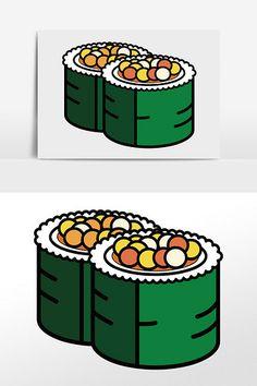 Cute fresh comic cartoon sushi food elements#pikbest#templates Food Template, Templates, Sushi Food, Sushi Recipes, Fresh, Cartoon, Comics, Illustration, Cute