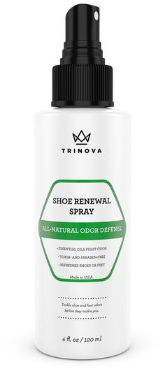 Shoe Renewal - All Natural Deodorizer for Shoes and Feet