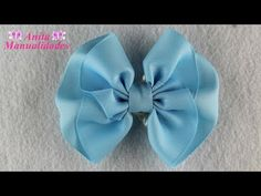 Amazing Ribbon Bow - Hand Embroidery Works - Ribbon Tricks & Easy Making Tutorial - Free Online Videos Best Movies TV shows - Faceclips Diy Lace Ribbon Flowers, Ribbon Art, Diy Ribbon, Ribbon Bows, Fabric Flowers, Making Hair Bows, Diy Hair Bows, Diy Bow, Bow Making Tutorials