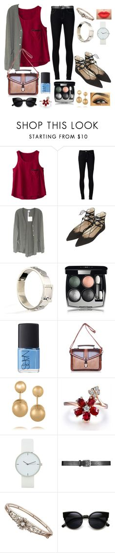 """""""Overflowing"""" by puppydog28 ❤ liked on Polyvore featuring Ström, Wilt, Topshop, CC SKYE, Chanel, NARS Cosmetics and Kenneth Jay Lane"""