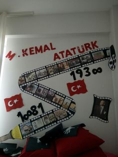 Ataturk Thanksgiving Bulletin Boards, Halloween Bulletin Boards, Birthday Bulletin Boards, Fall Classroom Decorations, Class Decoration, School Decorations, Kindergarten Bulletin Boards, In Kindergarten, School Parties