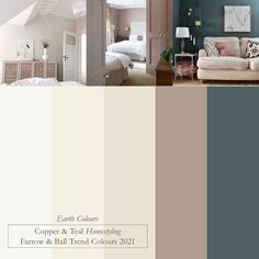 2021 Trends - Farrow & Ball colour schemes Interior Color Schemes, Kitchen Colour Schemes, House Color Schemes, Kitchen Paint Colors, House Colors, Paint Colours, Farrow And Ball Living Room, Farrow And Ball Paint, Farrow Ball