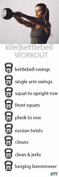 This is an awesome kettlebell workout. One of the best I've seen!
