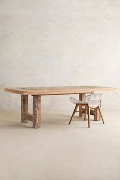 Dockside Dining Table #anthropologie