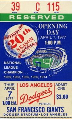TommyLasorda tweeted this to his followers on Opening Day. 15b004c34