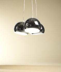 http://ift.tt/1ITMkAe Design HÄNGELEUCHTE TRIAS groß chrom / stilvoll und elegant / Blickfang für Ihr Zuhause #caseri@!