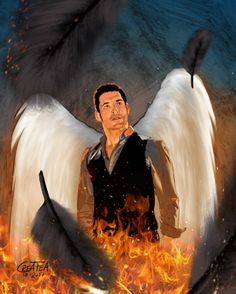 """30.6k Likes, 61 Comments - Lucifer (@luciferonfox) on Instagram: """"#Lucifer is looking ... quite literally. Submit your fan art by clicking the link in our bio! :…"""""""