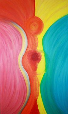 "Saatchi Online Artist Kelly Lynn Kimball; Painting, ""Freedom"" #art  www.lynncreations.com"