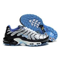 f9f674e97029 Classic Nike Air Max TN Shoes Black Silver Blue --- quite comfortable  sneakers in stylish design