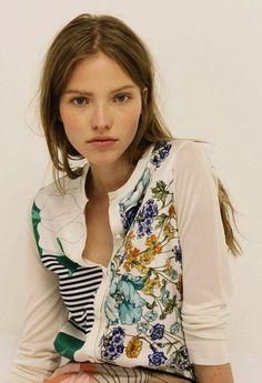 Sasha Luss for Nina Ricci