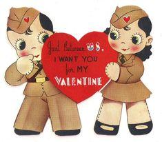 A WWII-era Valentine's Card