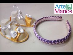 Trenzado o tejido en cinta paso a paso para diademas, sandalias, pulseras y mas - YouTube