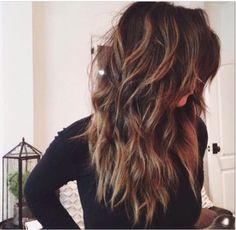Wavy brunette