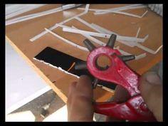 Cómo hacer un peine para un telar, (3) - YouTube