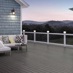 Deckorators Tropics Tidal Gray Grooved Composite Deck Board at Lowe's. Deckorators brand deck boards bring style and functionality to your deck or porch. This Tidal Gray composite deck board features a grooved bottom and