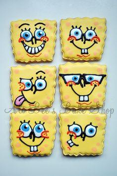 Awesome Spongebob cookies