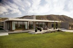 The project consists of a single family house located in Chicureo, a very hot zone in summer, which is why the starting point of the project was to take over the climate issue.  Because of this, the house was designed in only one level and is based