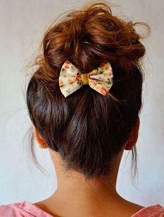 Les plus beaux chignons de Pinterest - Le nœud mutin