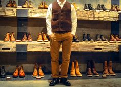 Red Wing Shoes Korea Coordination