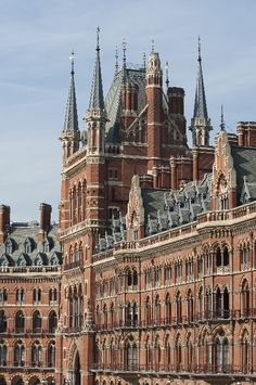 Chpt 6: St. Pancras Renaissance (formerly, Midland Grand) Hotel,  1868–1874; London, England; Sir George Gilbert Scott. Gothic Revival period