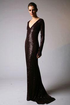 Naeem Khan Pre-Fall 2010 Fashion Show - Cassiane Bohn