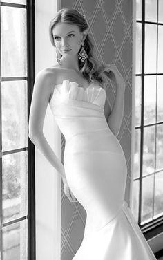 Wedding Dresses - Mermaid Wedding Dress by Martina Liana - Style 582 #MartinaLiana #WeddingDress