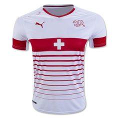 Switzerland 2016 Away Soccer Jersey