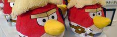 Pelúcia Angry Birds Star Wars Luke Skywalker Presente Geek. Presente para namorado, para os fãs de Angry Birds uma coleção completa de pelúcias dos seus personagens favoritos!  http://4macho.com/dicas-de-presente-geek-pelucia-angry-birds-star-wars-luke-skywalker-vermelho/