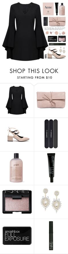 """yoins 20"" by tania-maria ❤ liked on Polyvore featuring LULUS, Wallflower, MAC Cosmetics, philosophy, Prada, shu uemura, NARS Cosmetics, Smashbox, yoins and yoinscollection"