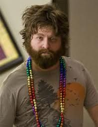 Zach Galifianakis..may not be sexy..but he's funny as hell