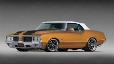 1970 Olds 442 Convertible ~Top Up Convertible, Old School Cars, Oldsmobile Cutlass, American Motors, Hot Rides, American Muscle Cars, Amazing Cars, Hot Cars, Exotic Cars