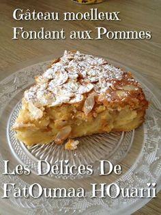 Gâteau FOndant Moelleux aux Pommes