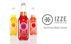 You'll Love What's Inside Izze Sparkling Juices - find them in http://go2snax.com/ Healthy Vending Machines