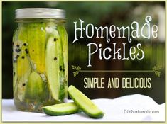How To Pickle Cucumbers [Refrigerator Pickles] : A great recipe for how to pickle cucumbers to make the best dill refrigerator pickles you've ever had. I promise they'll be a big hit with everyone!