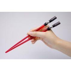 Light Saber Chopsticks, Darth Vader version.