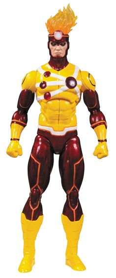 """DC Collectibles DC Comics Icons: Firestorm: Justice League Action Figure. Featuring DC's most recognizable characters. Recreates the DC Universe's most memorable events and stories. Figure stands 6"""" tall. Comes with multiple accessories. Limited edition."""
