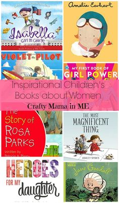 Inspirational Childrens Books about Women for Girls