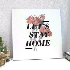 placa stay home