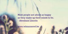 Lees meer op www.wimannerel.be