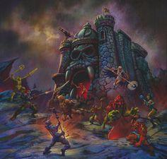 MOTU Classics Castle Grayskull   Battle Ram