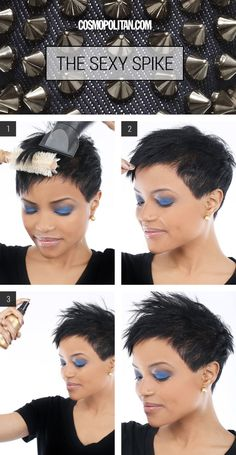 How+to+Create+The+Perfect+Spiky+Hairstyle  - Cosmopolitan.com
