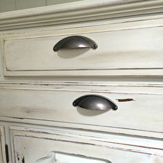 How To Paint And Distress A Wood Hutch Hardware