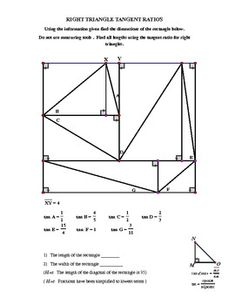 Geometry or Trigonometry Right Triangle Trig